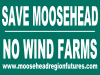 Save Moosehead sign